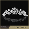 Wholesale Bridal Wedding Accessory Flower Rhinestone Crown
