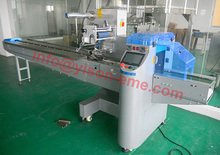 CE approved Automatic cupcake wrapper, Hamburger/ Cake Horizontal Packing Machines