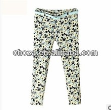 C60343A 2013 THE SUMMER NEWEST STYLE GIRL'S FASHION PRINTING PERSONALITY CASUAL PANTS