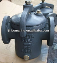 Marine Basket Sea Water Strainer JIS F7121 S Type