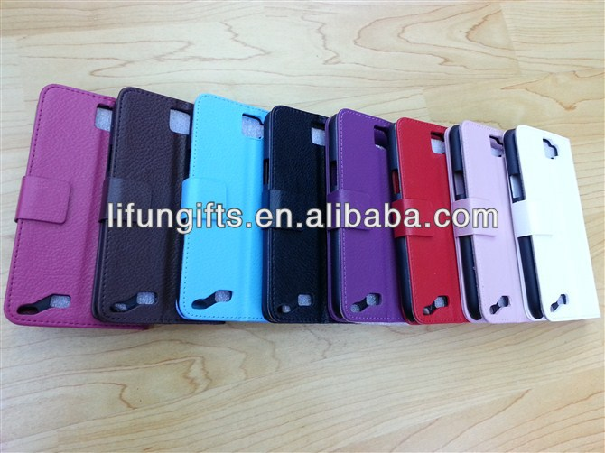2016 high quality pu leather case for galaxy note2 7100 can be inserted cards