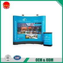 Factory Direct Sale ABS PVC Panels Straight Exhibition Pop Up Booths For Trade Shows