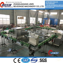Auto recycle glass bottle washing/filling machine