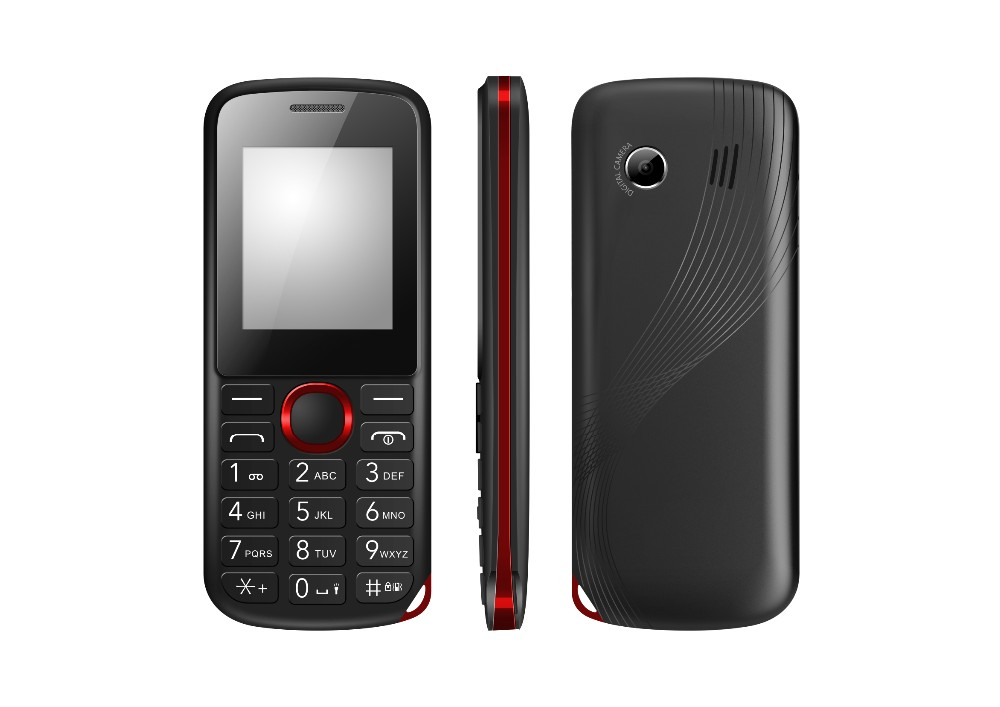 1.8 inch high quality quad band dual sim low price cell phone