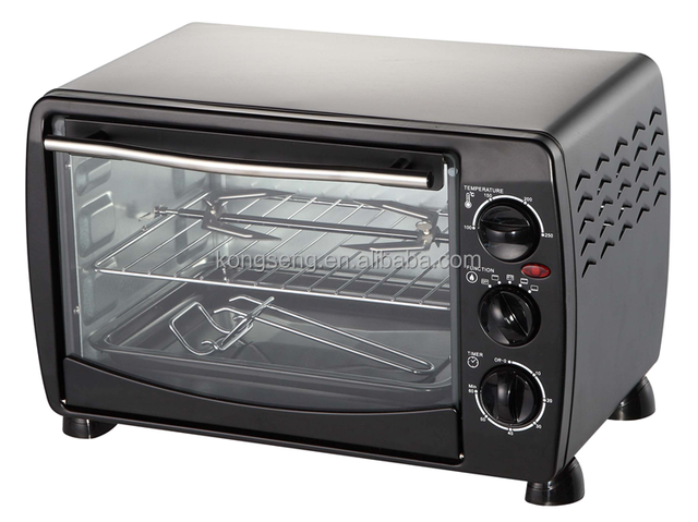 Best selling 18L Bread Baking Electric Toaster Oven with convection grill cake function
