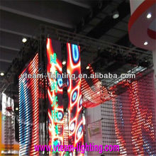 led strip screen,night club led screen P15 flexible led display panels China Supply