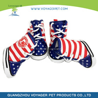 Lovoyager New fashion canvas dog Boots made in China