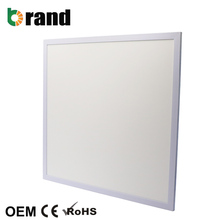 CE RoHS Ultra Slim 100lm/<strong>w</strong> White Frame 600x600 36W LED Panel Light For Office