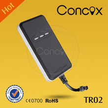 2016 new item gps tracker of Concox TR02 real time tracking Gps data logger