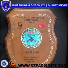 Wooden Laser Cut Crest Shield Shapes Wood Award Made In China