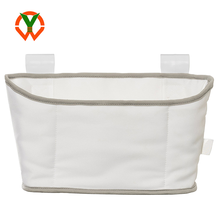 Wholesale Eco-friendly Cotton Canvas Baby Diaper Storage Caddy Bag