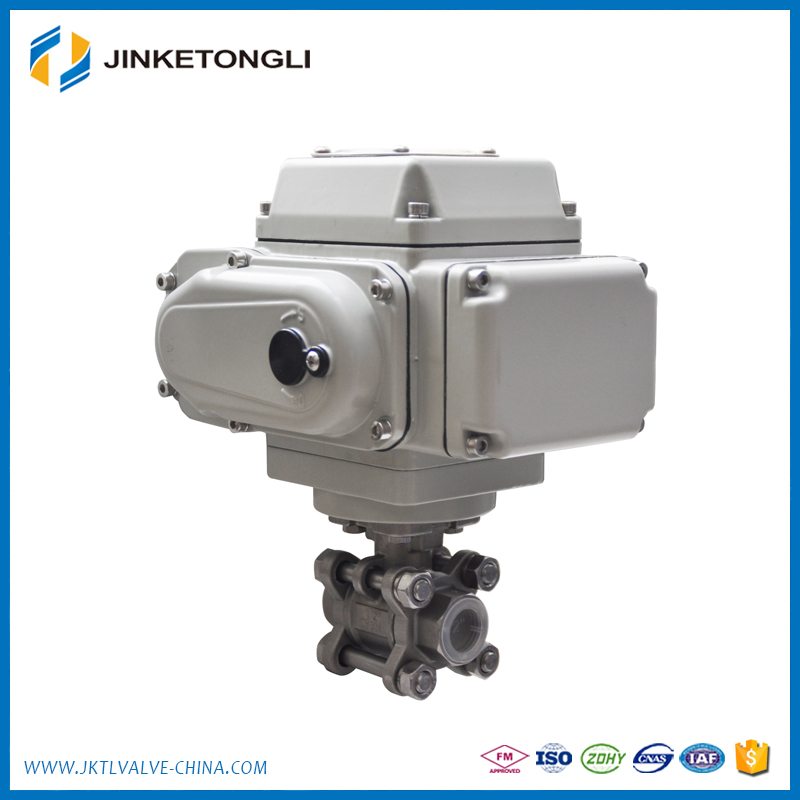 1/2 to 2,12V, motorized Electric Actuator Ball Valve for Auto drain Water cooling system