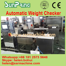 Automatic check weigher weighing scales automatic weight inspection machine