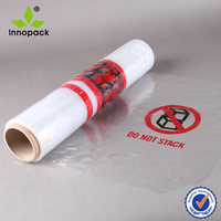 POF/PE plastic printed shrink wrapping film roll/bagging film