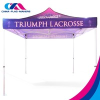 custom outdoor work fold 10x10 advertise movable canopy tent