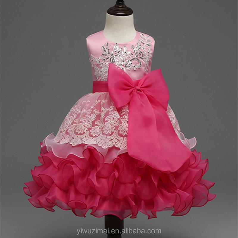 Venta al por mayor vestidos de moda de niña-Compre online los ...