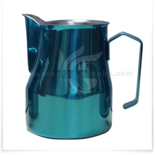 12oz Premium Stainless Steel Milk Frothing Pitcher Latte Art Jug Milk Jug With Customized Color