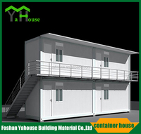 Modern economic strong and durable steel frame prefab container house