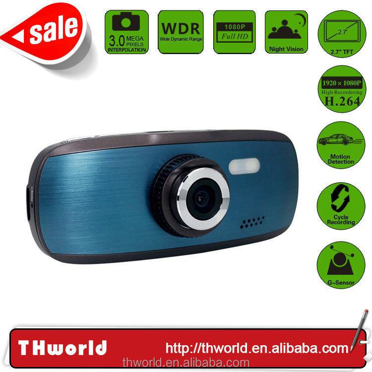 wholesale promotion hd car dvr g1w 1080p camera