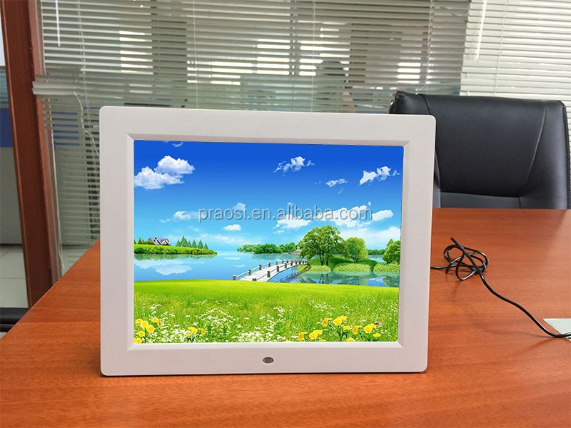 advertising player 12 inch digital photo frame video player 1080p HD 12'' new model slim with 4:3 or 16:9