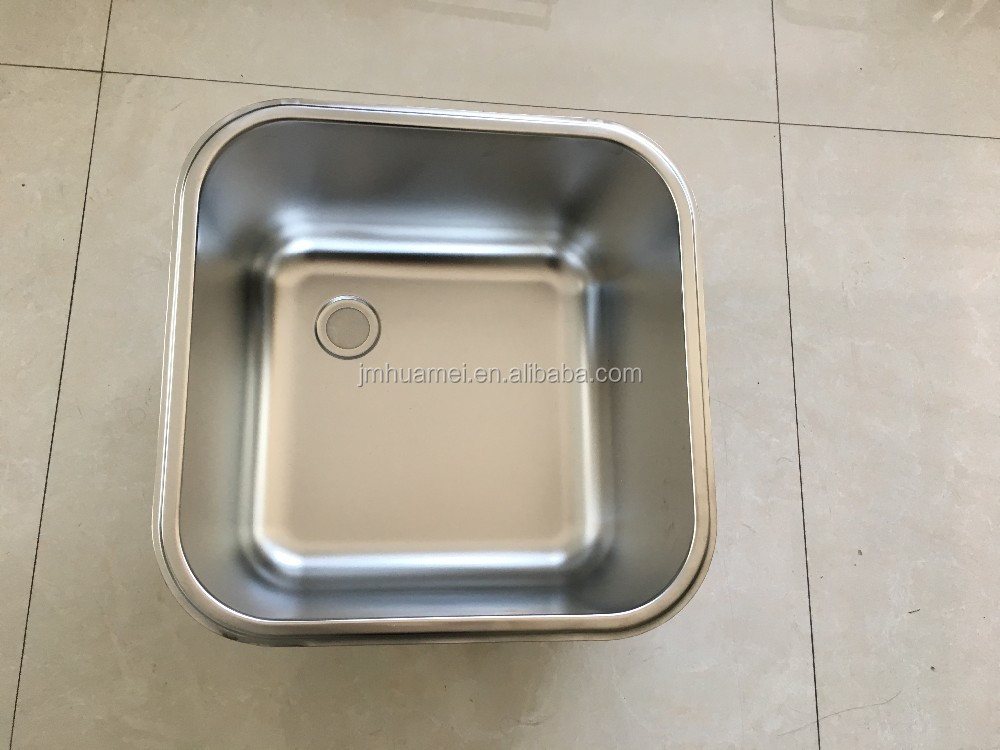 Commercial Inox Steel Sink Work Table for Restaurant Kitchen Equipment