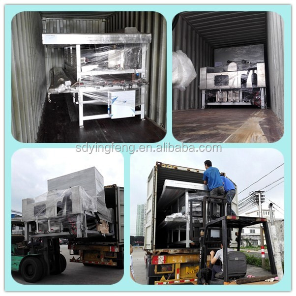 JFW-2500 automatic glass washing cleaning machine for LOW-E glass big engine