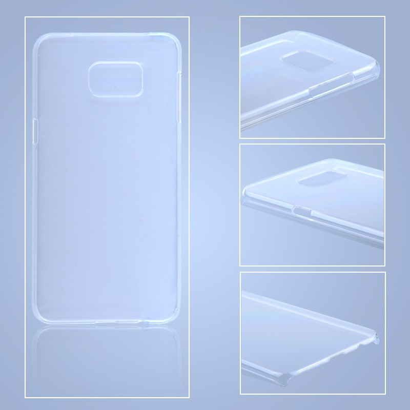 PC hard case for Samsung S6 edge plus transparent back cover case