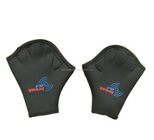 custom size neoprene swimming gloves