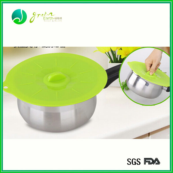 Food eco-friendly flexible silicone stretch lid food silicone cover