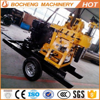 best price 200m Trailer mounted drill rig BC-200Y