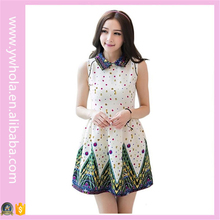 Casual Philippines Vintage Clothing Dress Fashion Chiffon Fabric