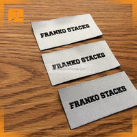 customized woven labels for stiching in shoes