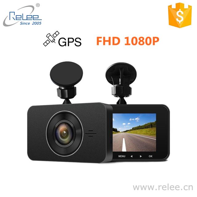 2MP GPS 3 Inch IPS LCD screen 170 degree dash cam 2018 s o n y sensor chinese cameras dash cam wifi gps