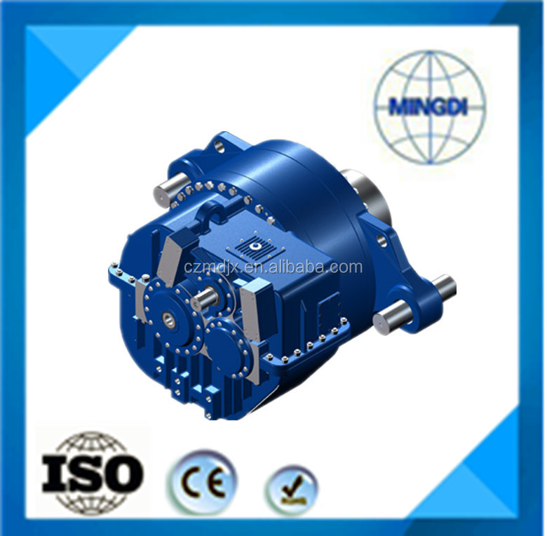 T series gearbox / speed variator with DC motor