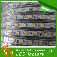SMD5050 RGB DC 220-240v led strip 100m