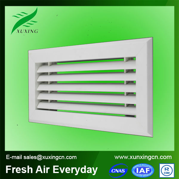 2015 new style fixed type return plastic ventilation grille for home hvac system