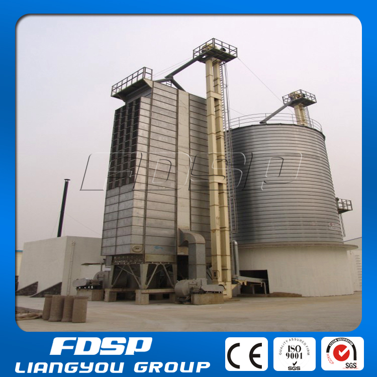 Grain Raw Material Storage Bins for Feed Mill Plant/Galvanized Steel Silo Manufacturer