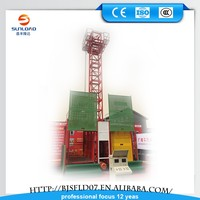 SC200 electrical 2ton outdoor material elevator very applicable!!