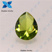 Large price crystal rough peridot diamond for wedding dresses 2015