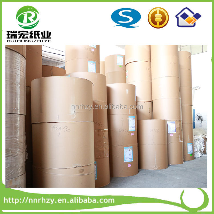 Good quality 100% virgin wood pulp pe offset base paper raw materials for paper cups