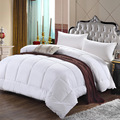 Hot selling cheap 100% microfiber soft white quality comforter