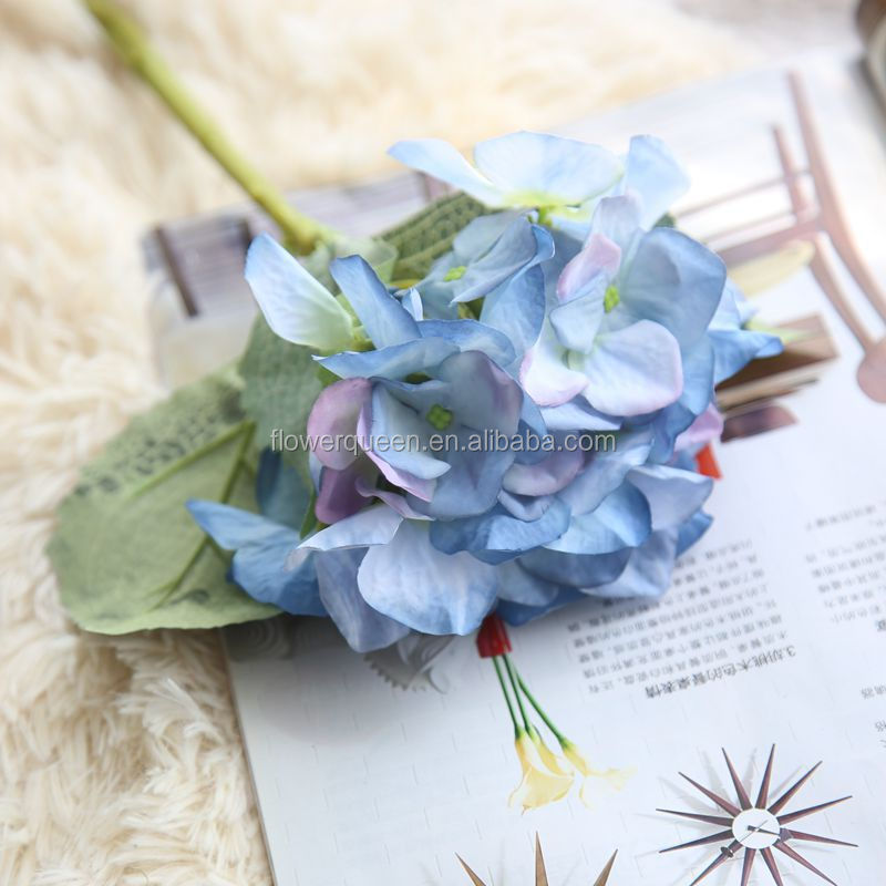 Artificial Hydrangeas Faux Flowers Kmart Bouquet Silk Artificial