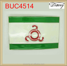 BUC4514 wholesale custom metal flag blank belt buckle