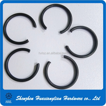 din 7993 black anodizing Round wire snap ring for bores
