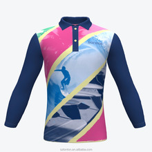 Sublimation long sleeve new design wholesale cricket jerseys