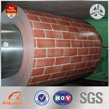 GI Hot Dip Galvanized Print Color Coated Steel Sheet PPGI for Wholesales Prepainted Steel Coil