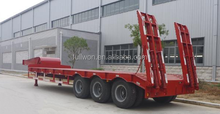 For 100 ton duty low bed trailer with hydraulic Ladder