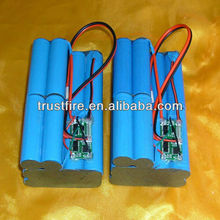 18650 3.7v rechargeable Li-ion battery pack from Trustfire Manufacturer