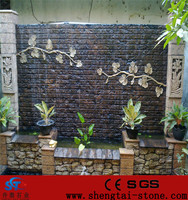 Hot sale prefab artificial rockery waterfalls for home garden