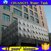 China standard stainless steel panel drinking water tank with high quality